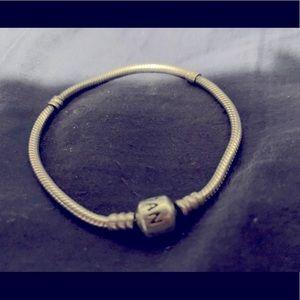 Pandora barrel clasp snake bracelet